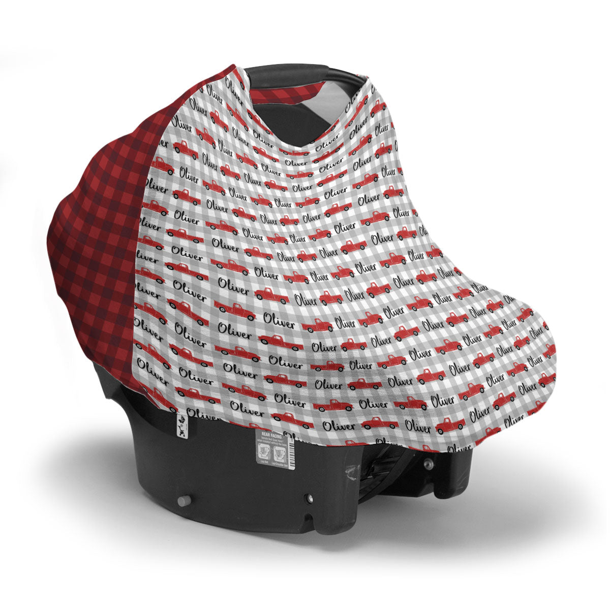 Oliver's Vintage Truck | Car Seat Cover (Multi-Use)