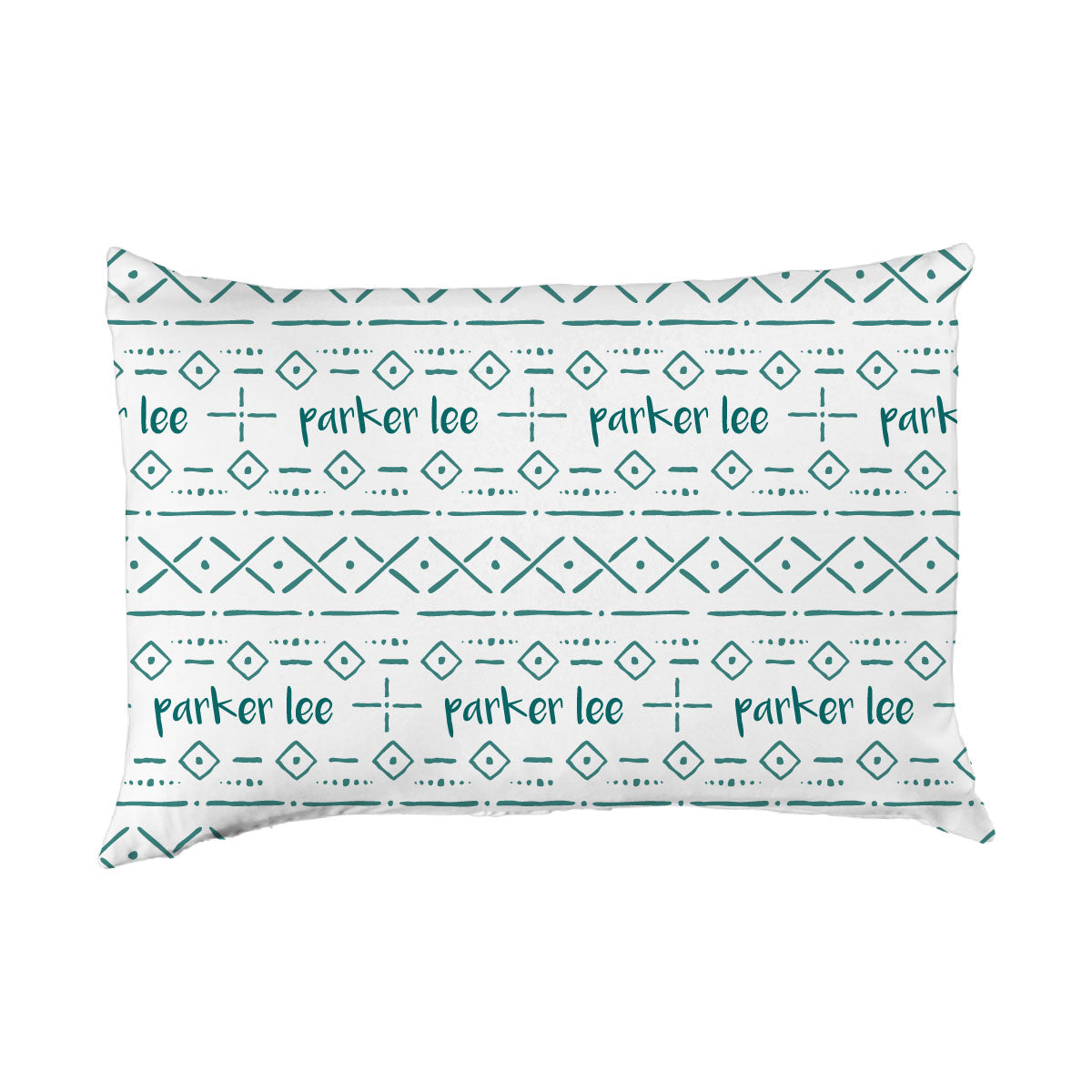 Parker's Tribal Lines | Big Kid Pillow Case
