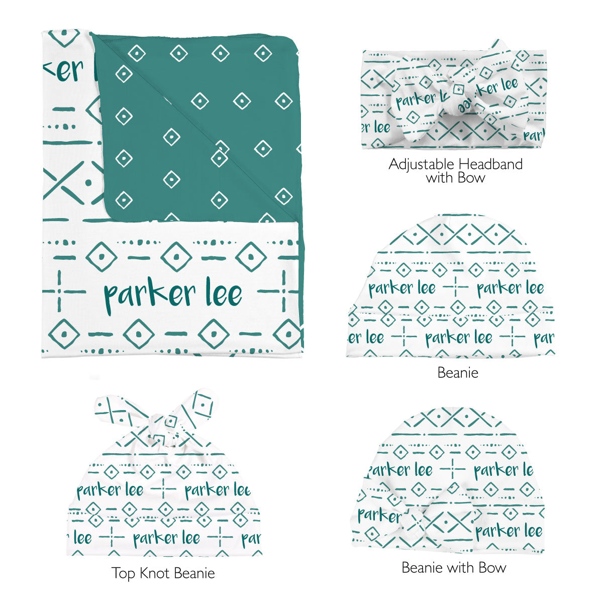 Parker's Tribal Lines | Swaddle Set