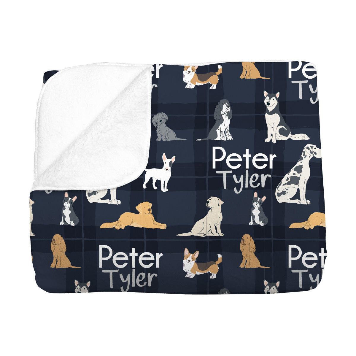 Peter's Pack of Puppies | Big Kid Blanket