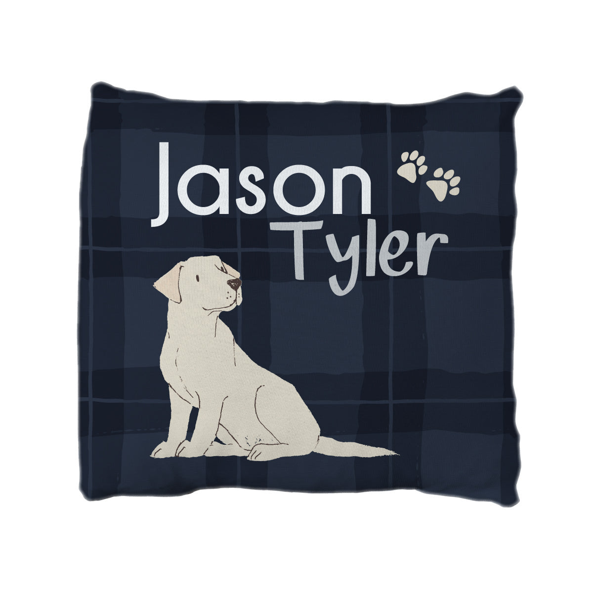 Peter's Pack of Puppies | Big Kid Throw Pillow