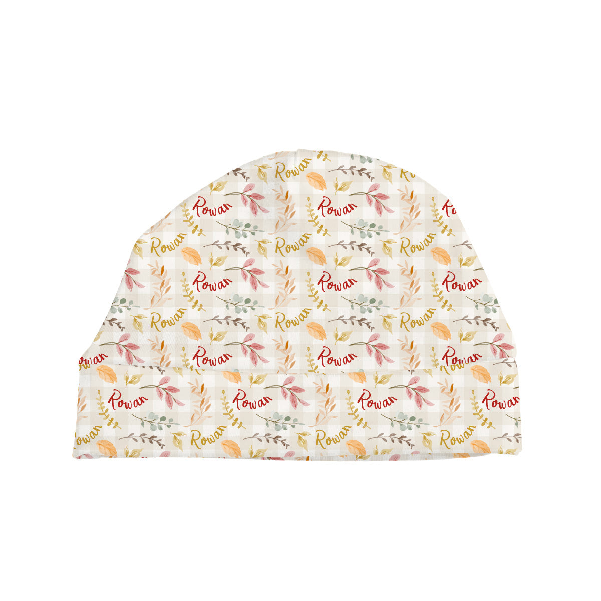 Rowan's Fall Leaves | Baby Hat