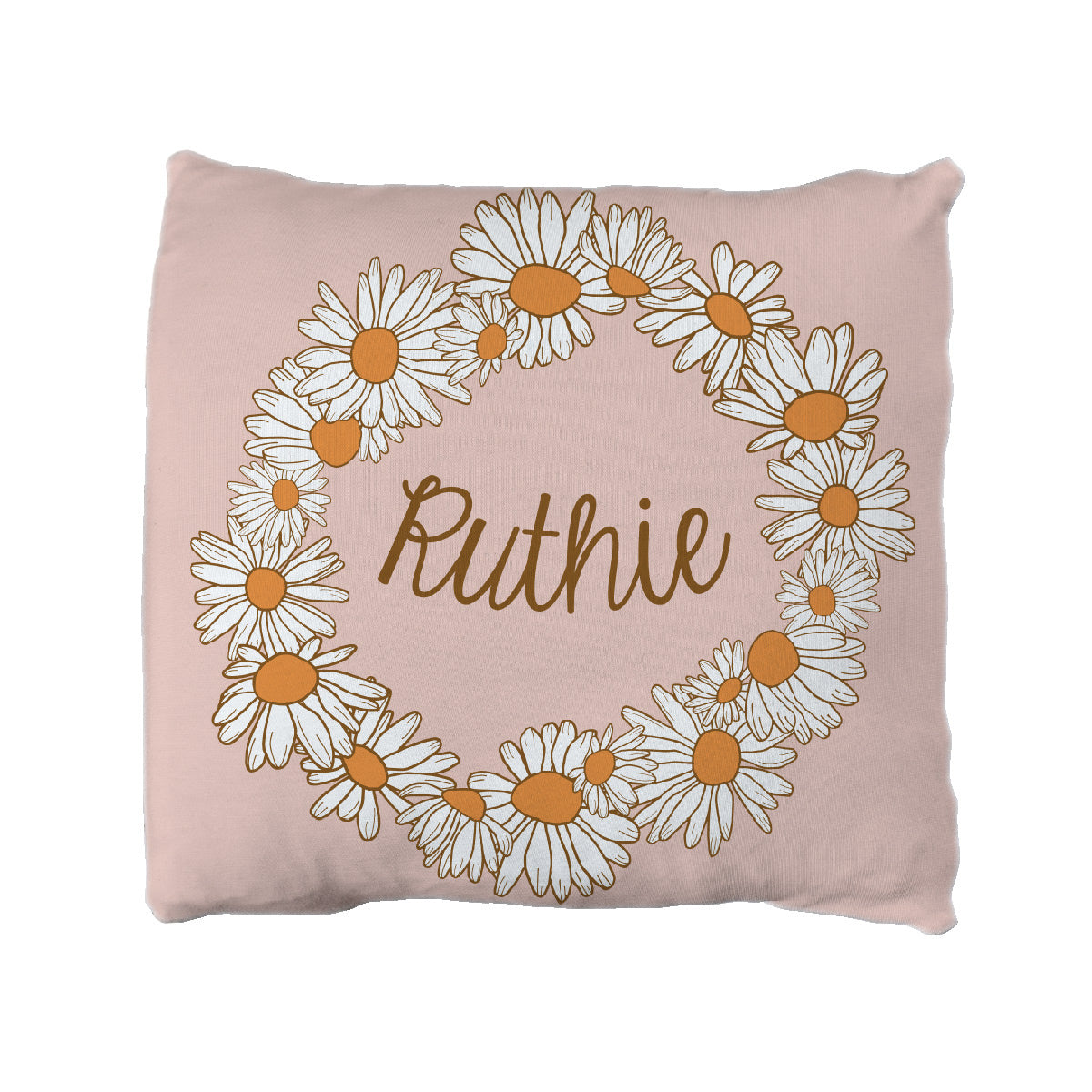 Ruthie's Far Out Floral | Big Kid Throw Pillow