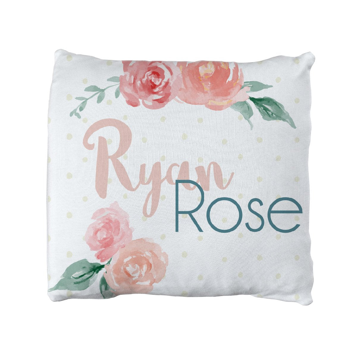 Ryan Rose | Big Kid Throw Pillow