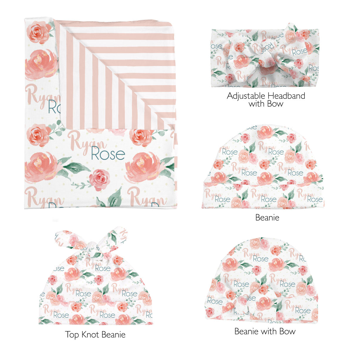 Ryan Rose | Swaddle Set