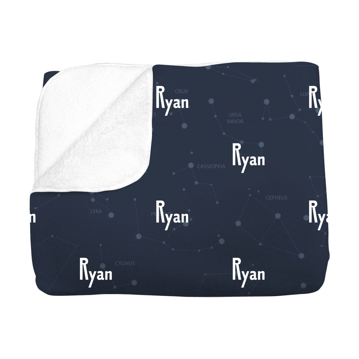 Ryan's Captivating Constellation | Big Kid Blanket