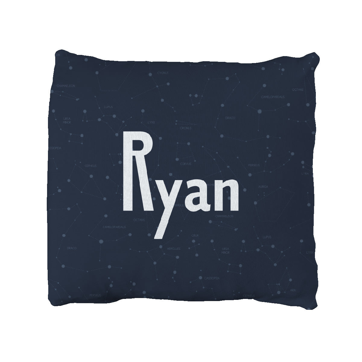 Ryan's Captivating Constellation | Big Kid Throw Pillow