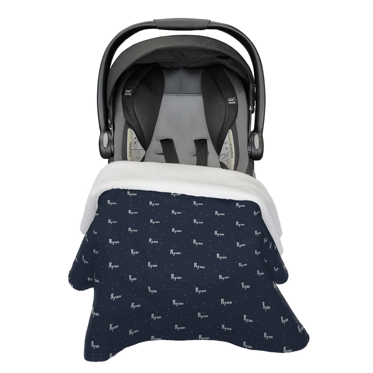 Ryan's Captivating Constellation | Car Seat Blanket