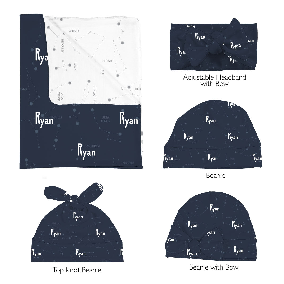 Ryan's Captivating Constellation | Swaddle Set