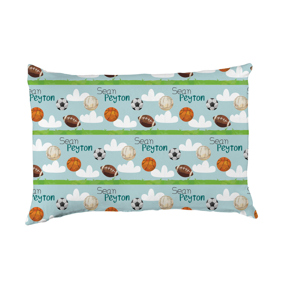 Sean's Sports | Big Kid Pillow Case
