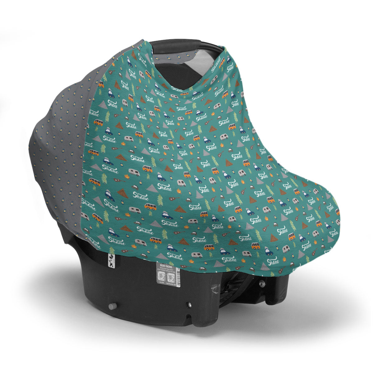 Shane's Camping Trip | Car Seat Cover (Multi-Use)