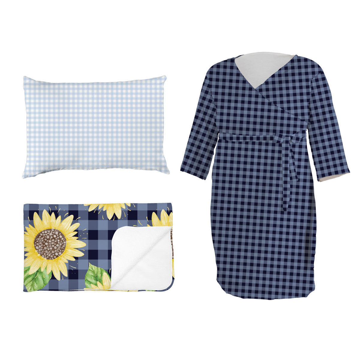 Summer's Sweet Sunflower check | Mommy Bundle