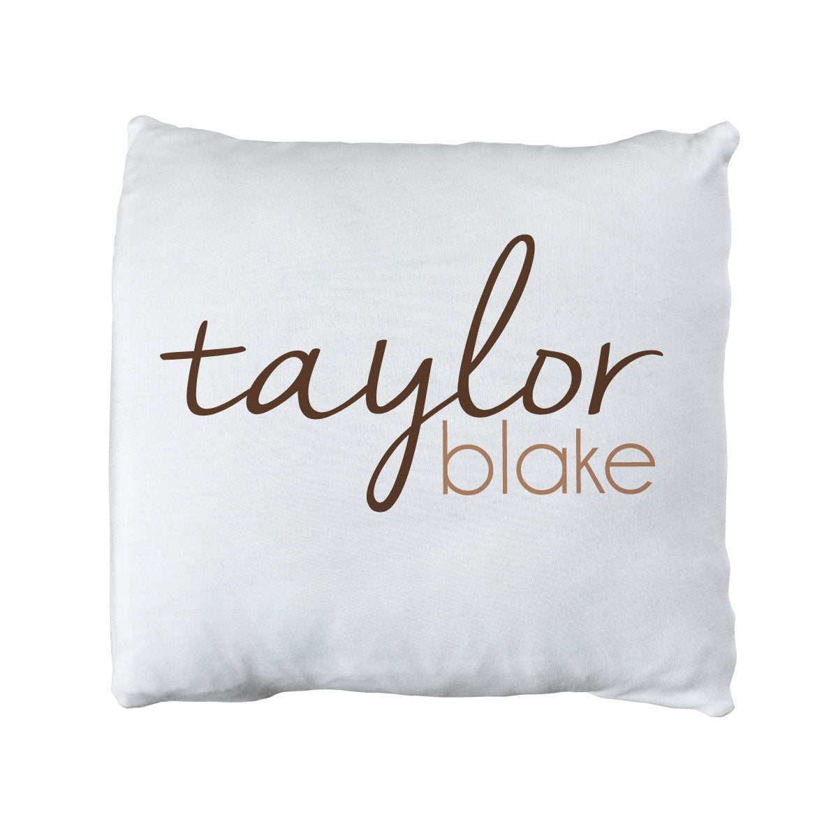 Taylor's Simple Dashes | Big Kid Throw Pillow