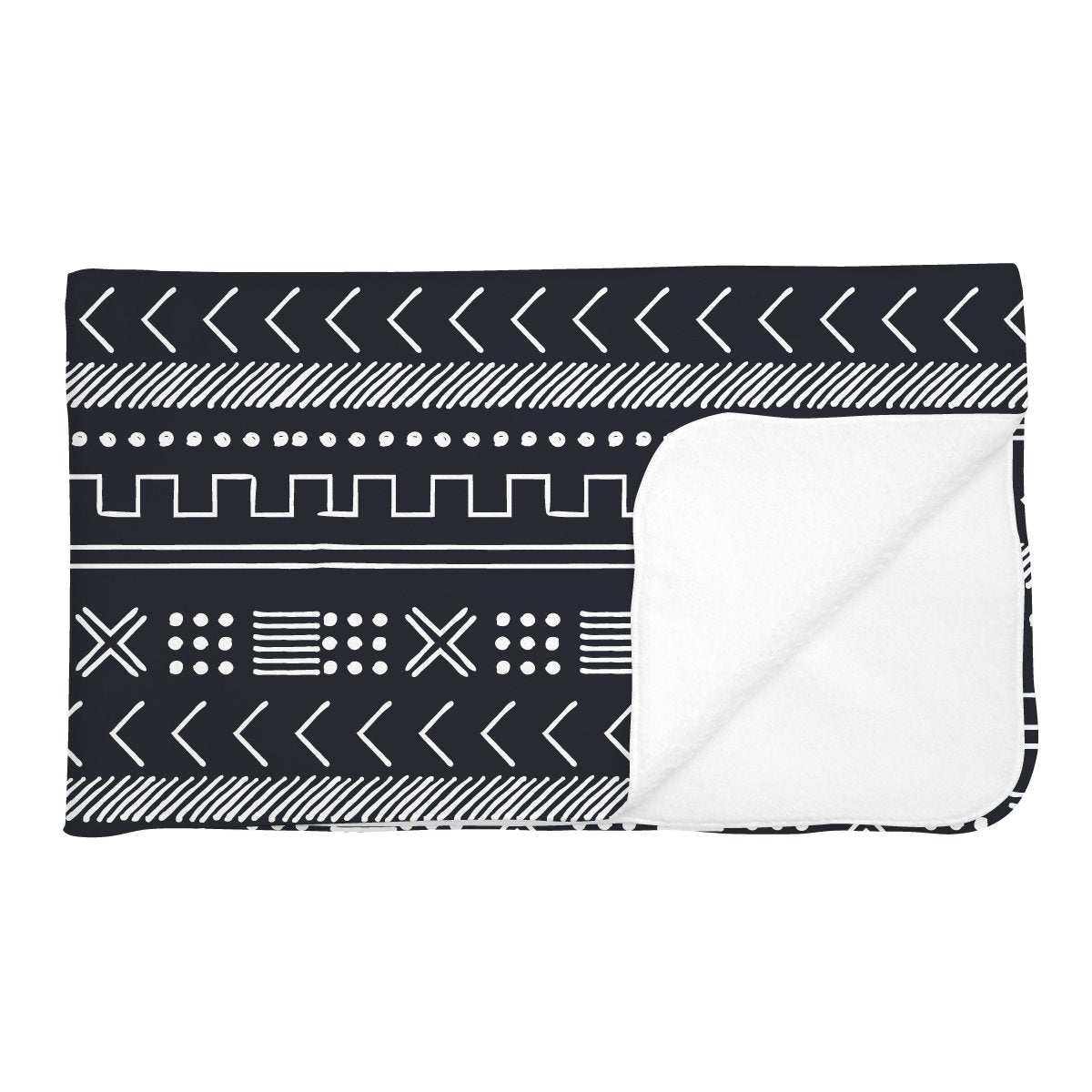 Tiago's Charcoal Tribe | Adult Size Blanket