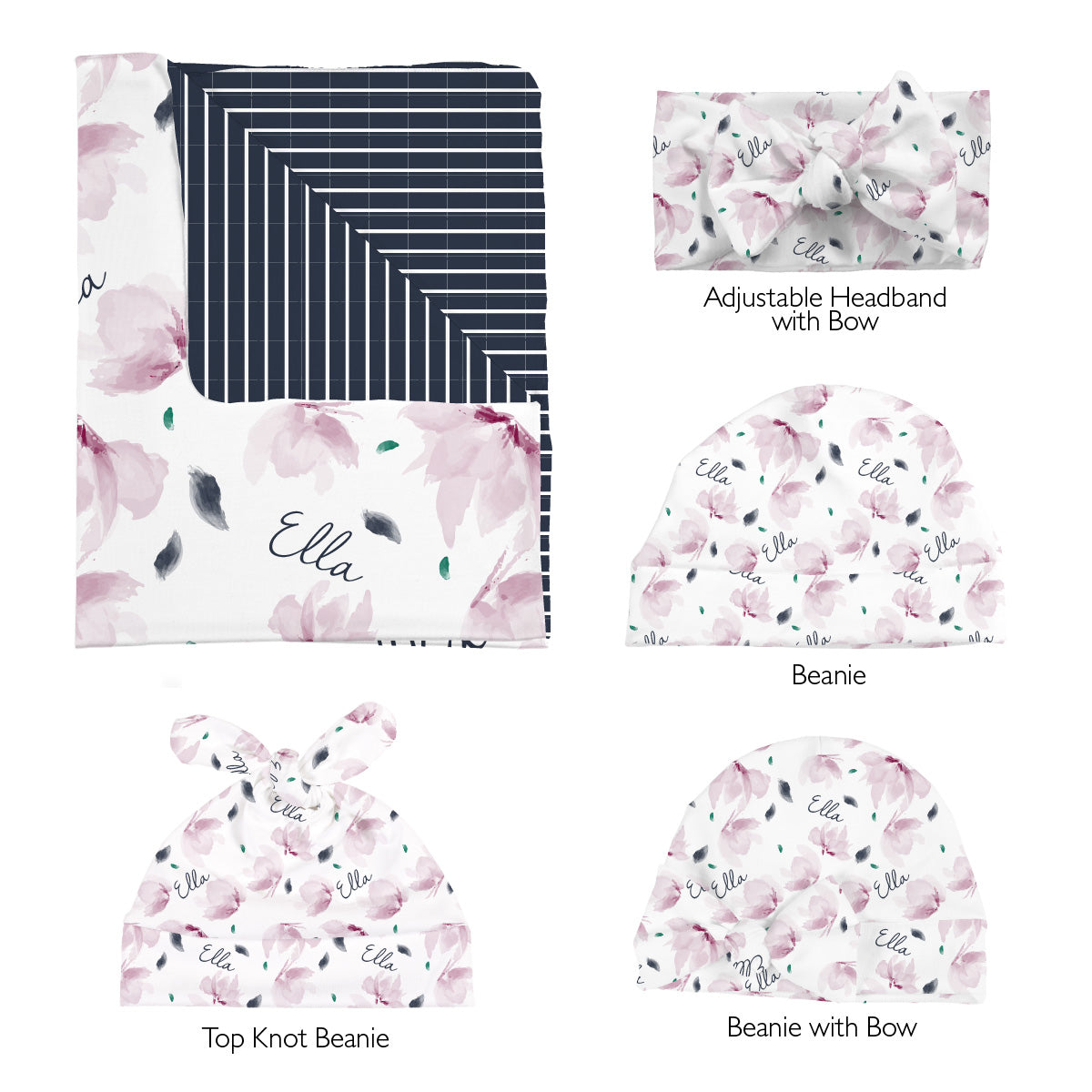 Vera's Enchanted Floral | Swaddle Set