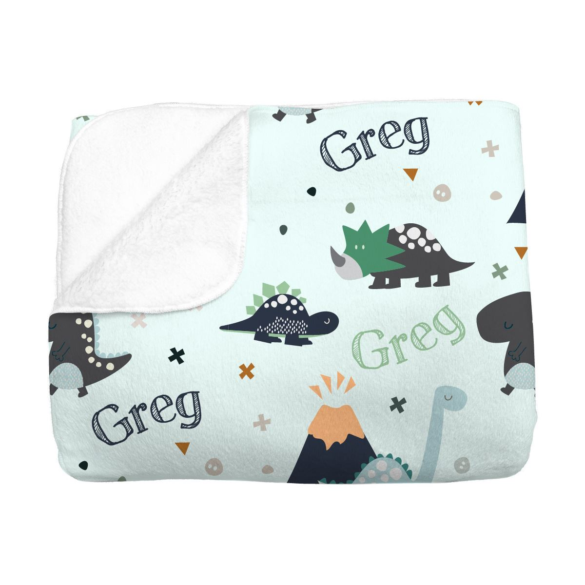 Greg's Dino Adventure | Big Kid Blanket