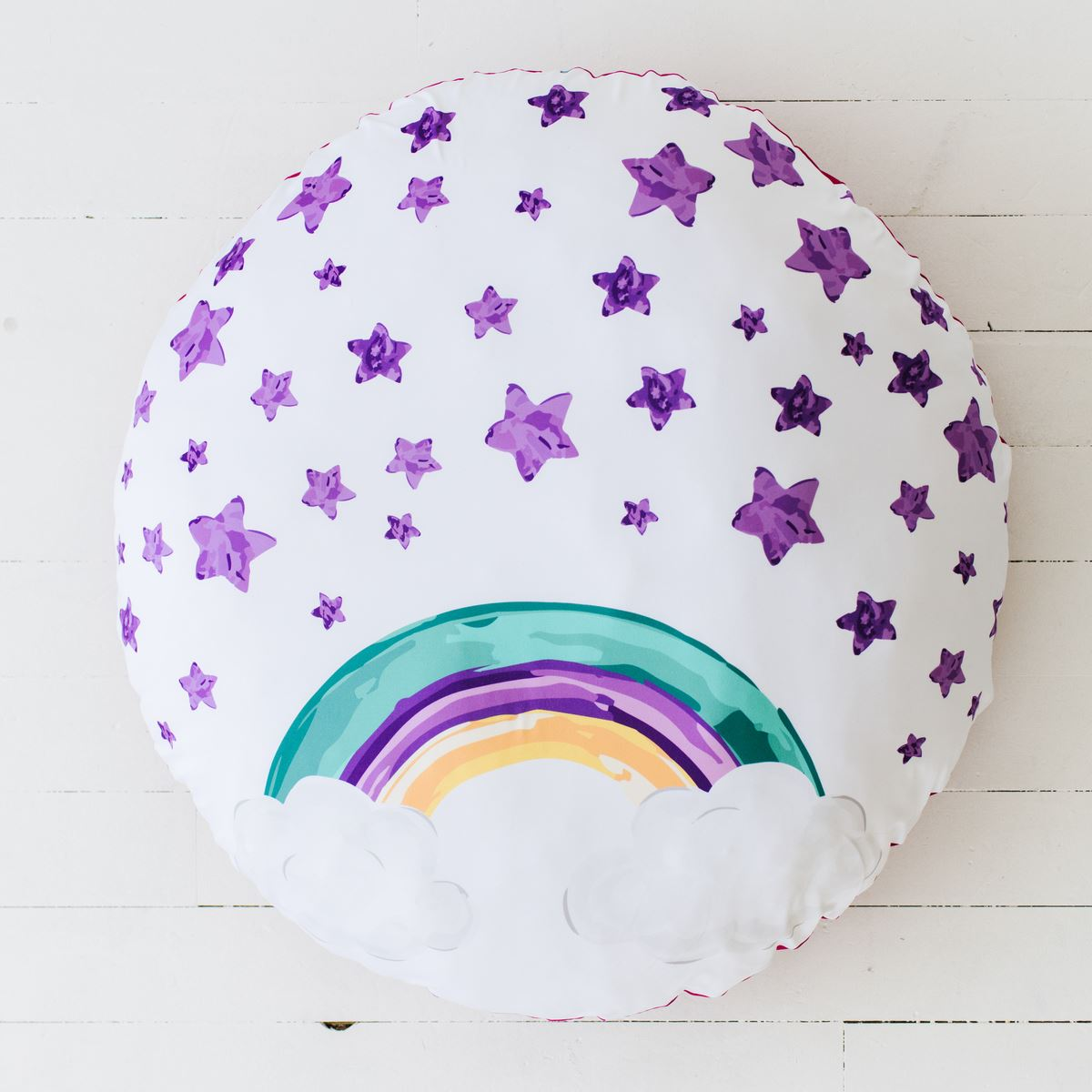 Luna's Magical Unicorn | Floor Pillow