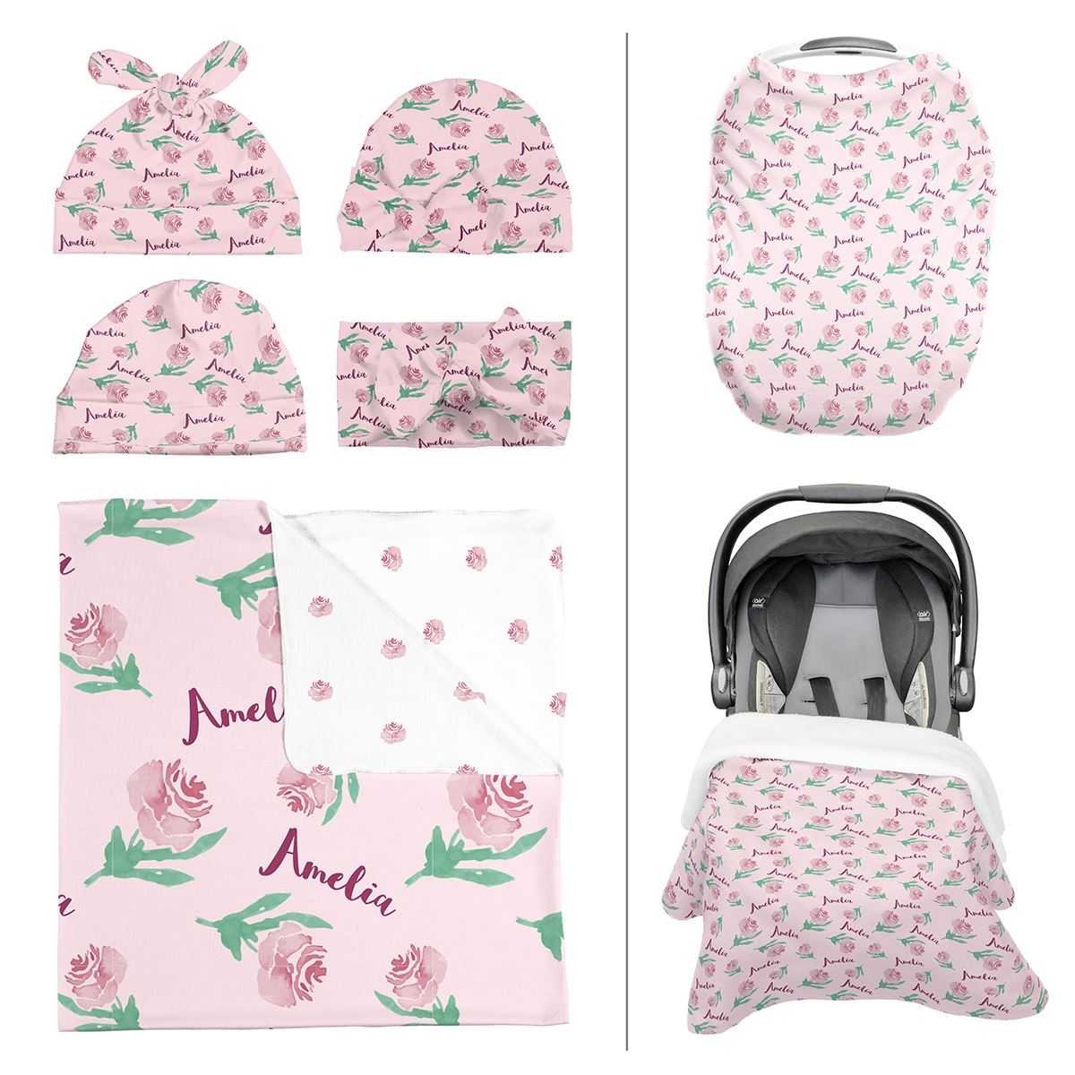 Amelia's Antique Rose | Take Me Home Bundle