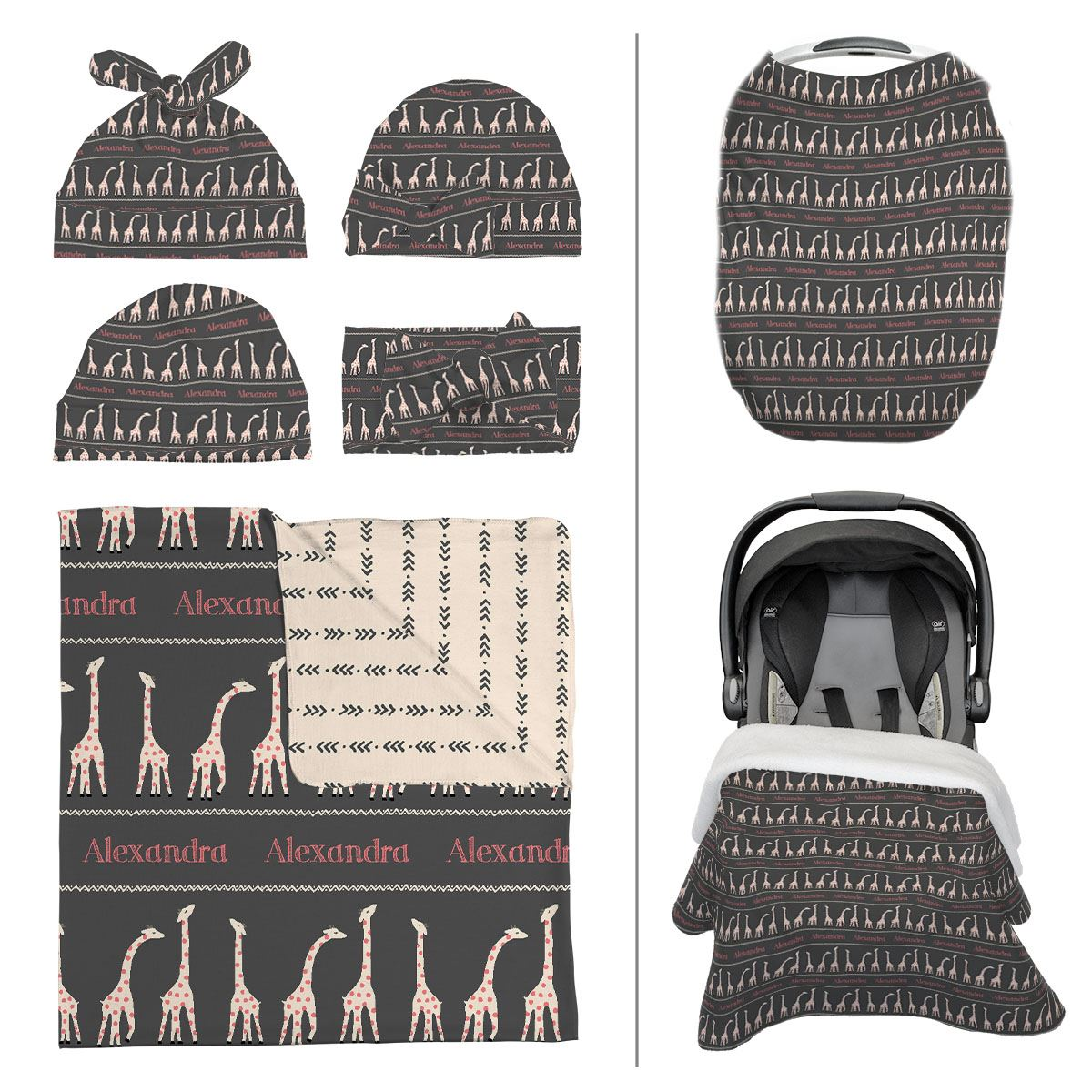 Afia's Gentle Giraffe | Take Me Home Bundle