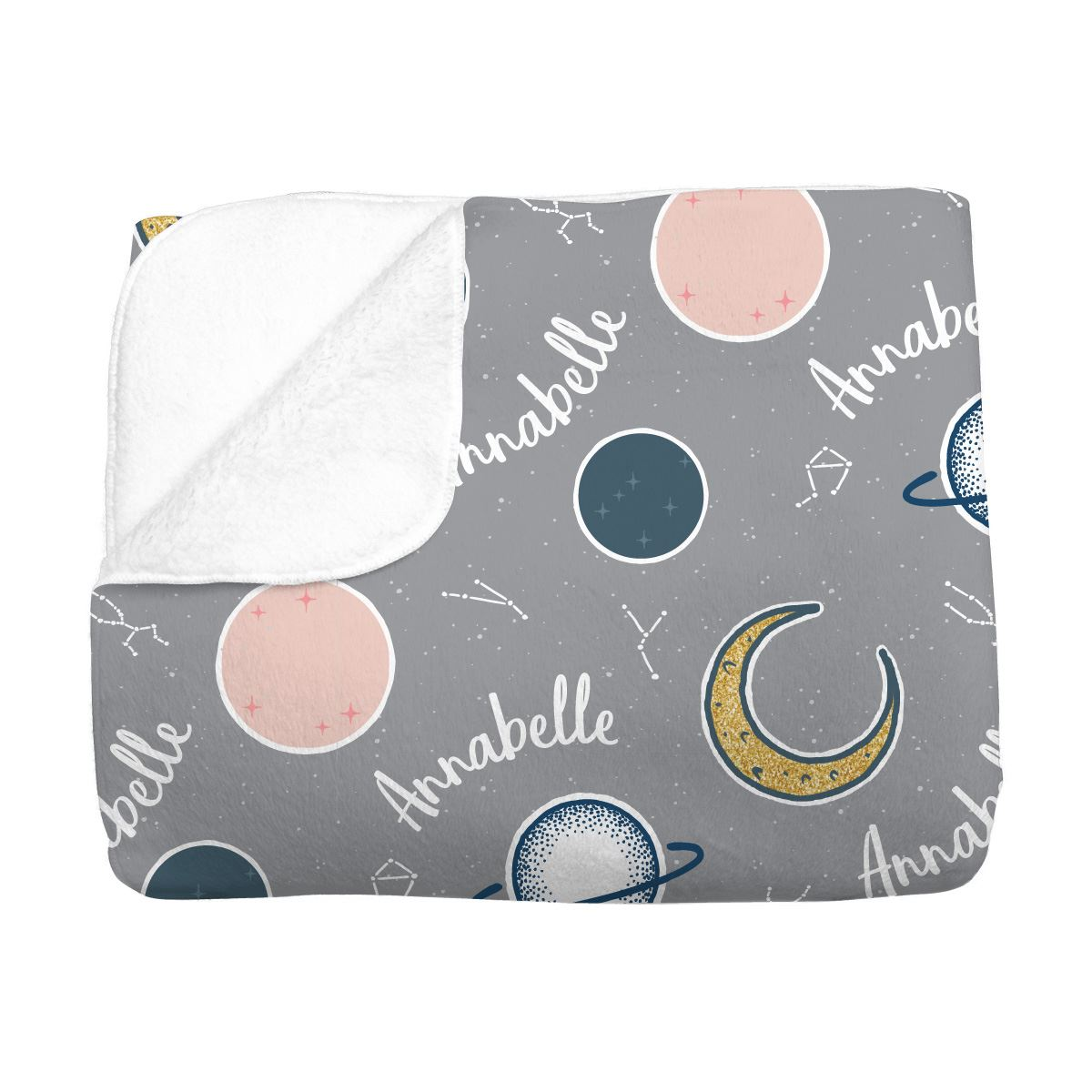 Annabelle's Outer Space | Big Kid Blanket