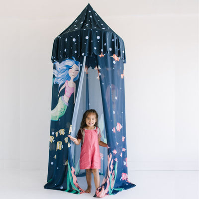 Opal's Mythical Mermaid | Hanging Canopy Tent