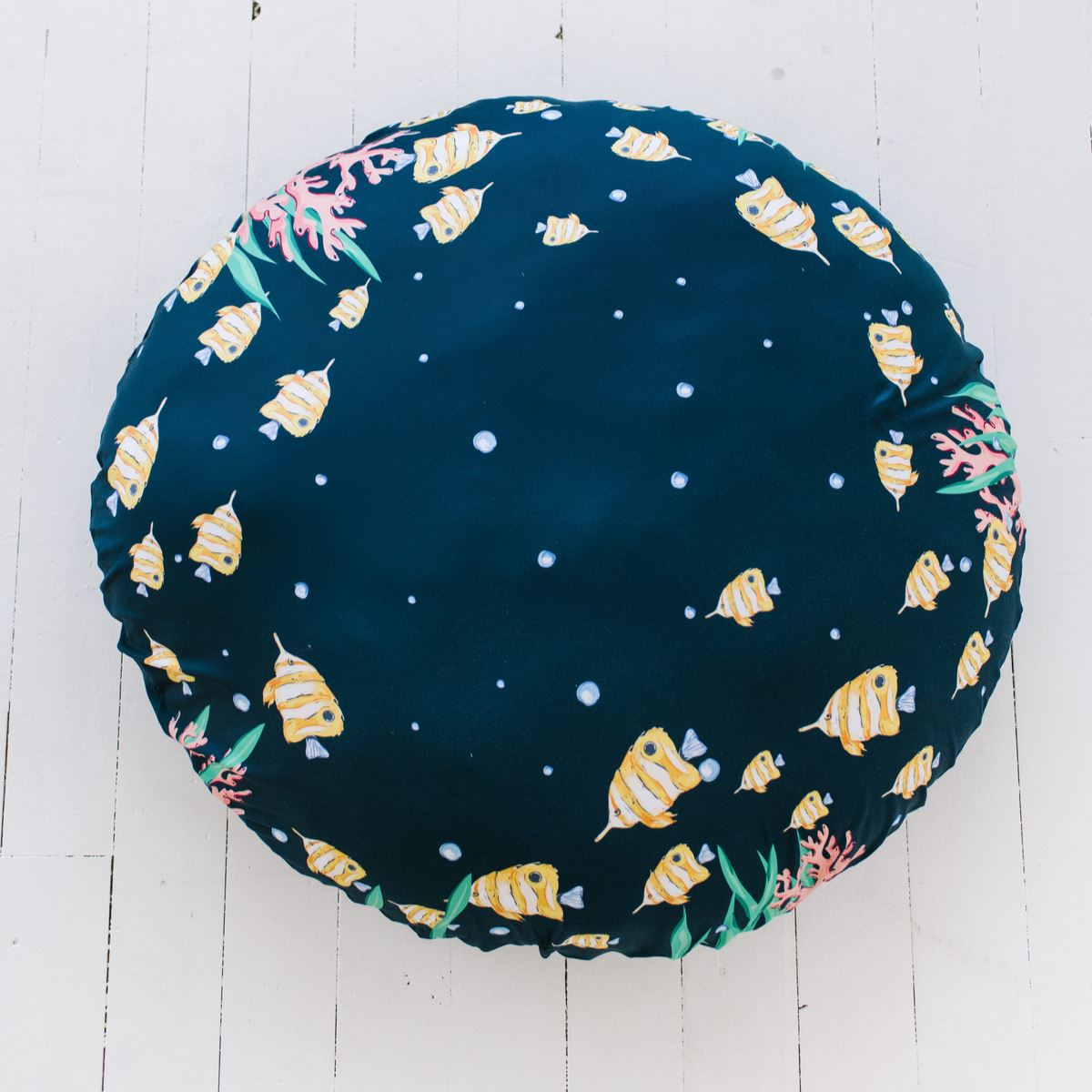 Opal's Mythical Mermaid | Floor Pillow