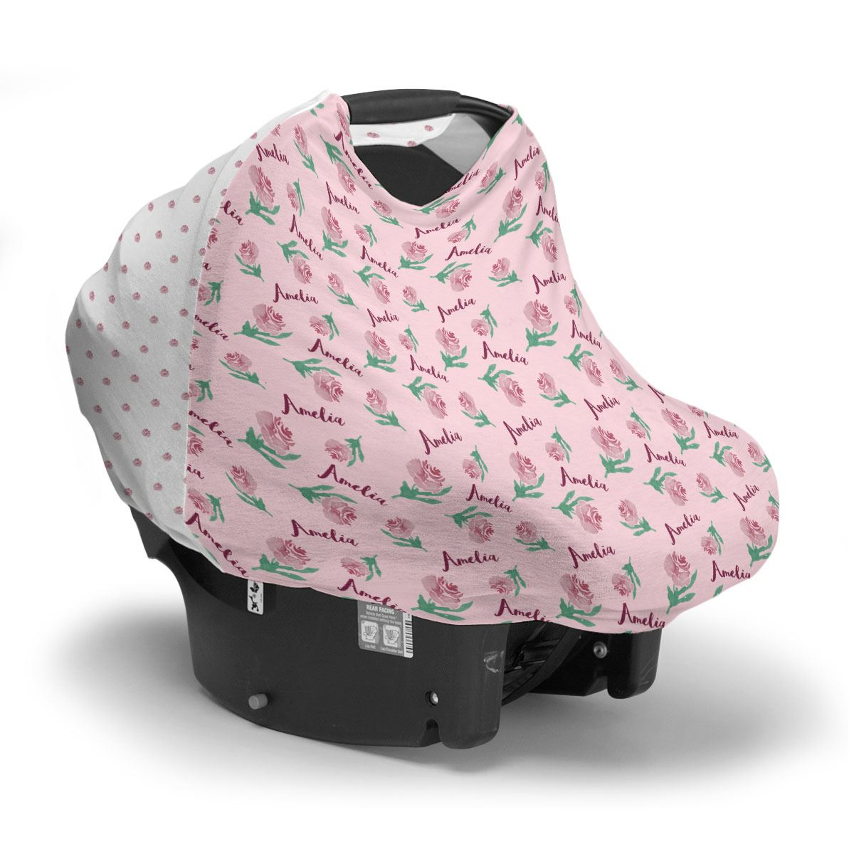 Amelia's Antique Rose | Car Seat Cover (Multi-Use)