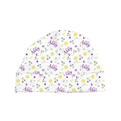 Abby's Wildflower | Swaddle and Hat Set