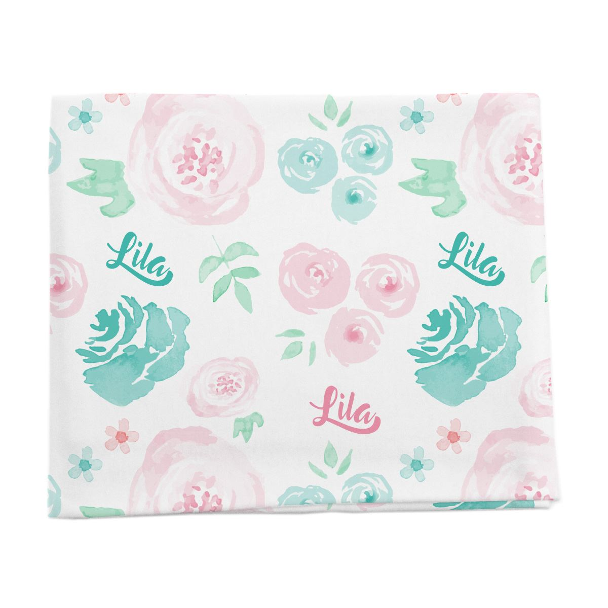 Lila's Summer Floral | Swaddle
