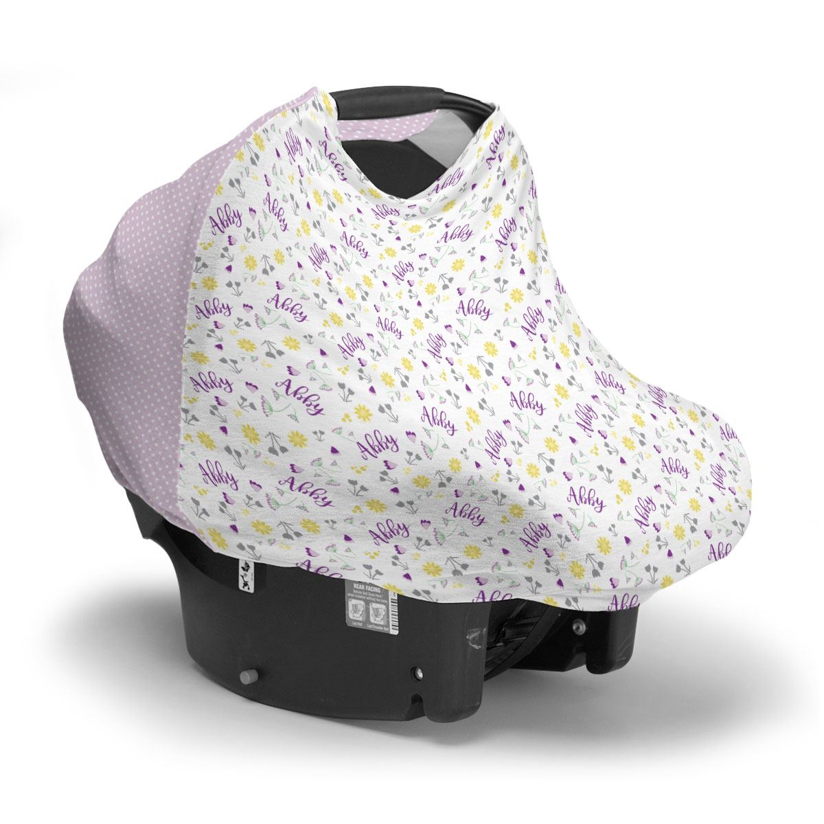 Abby's Wildflower | Car Seat Cover (Multi-Use)