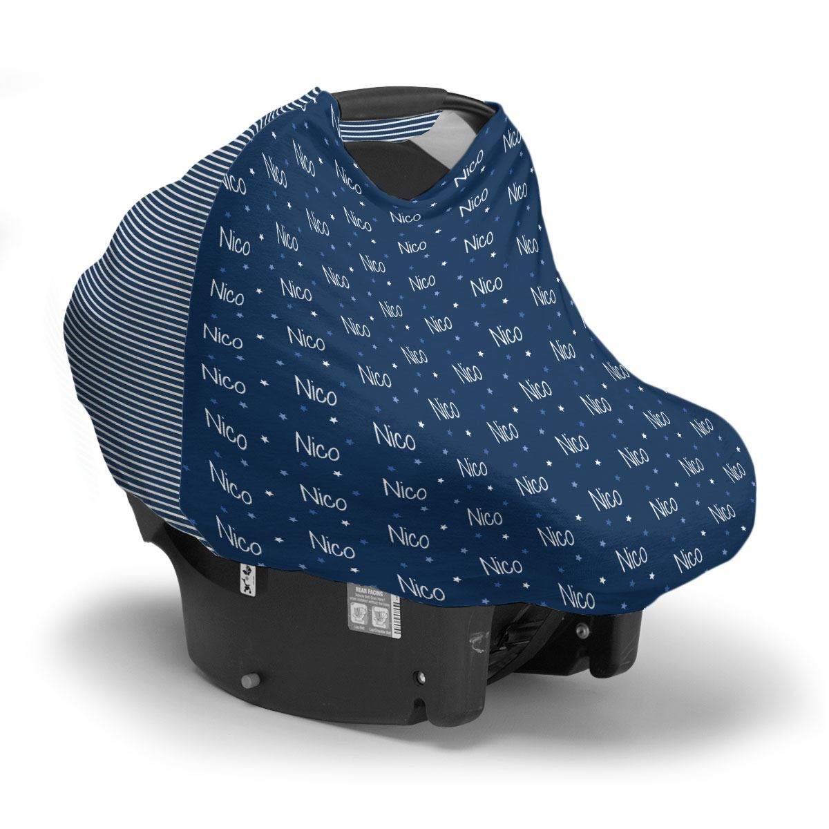 Nico's Twinkling Stars | Car Seat Cover (Multi-Use)