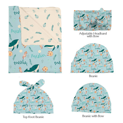 Marlin's Marine Life | Swaddle and Hat Set