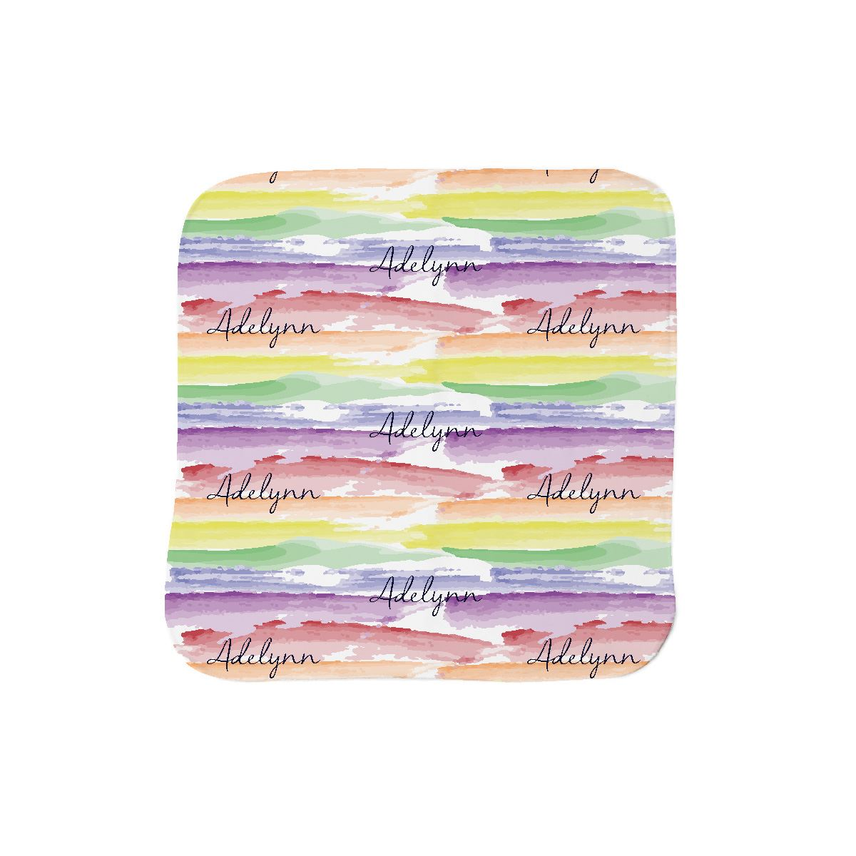 Jayla's Watercolor Rainbow | Lovey