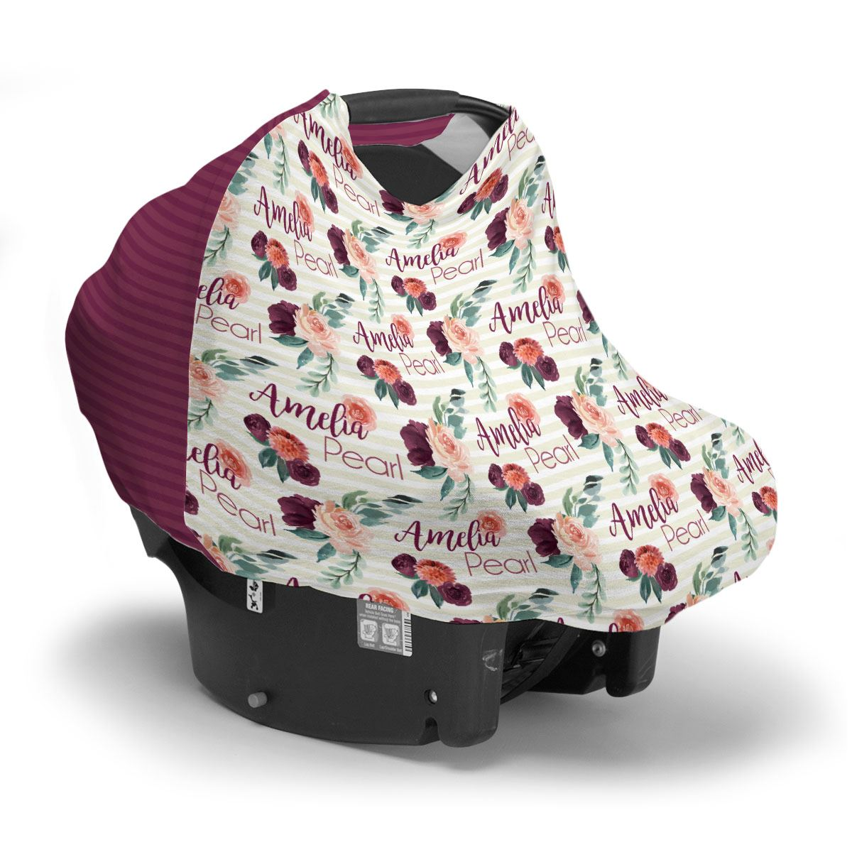 Alice's Autumn Rose | Car Seat Cover (Multi-Use)