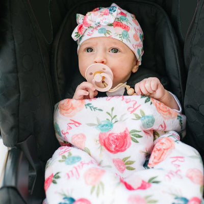 Opal's Mythical Mermaid | Car Seat Blanket