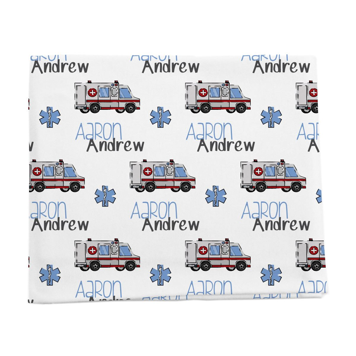 Aaron's Speedy Ambulance | Swaddle