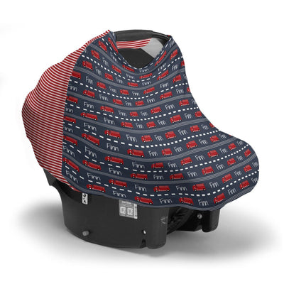 Finn's Firetruck | Car Seat Cover (Multi-Use)