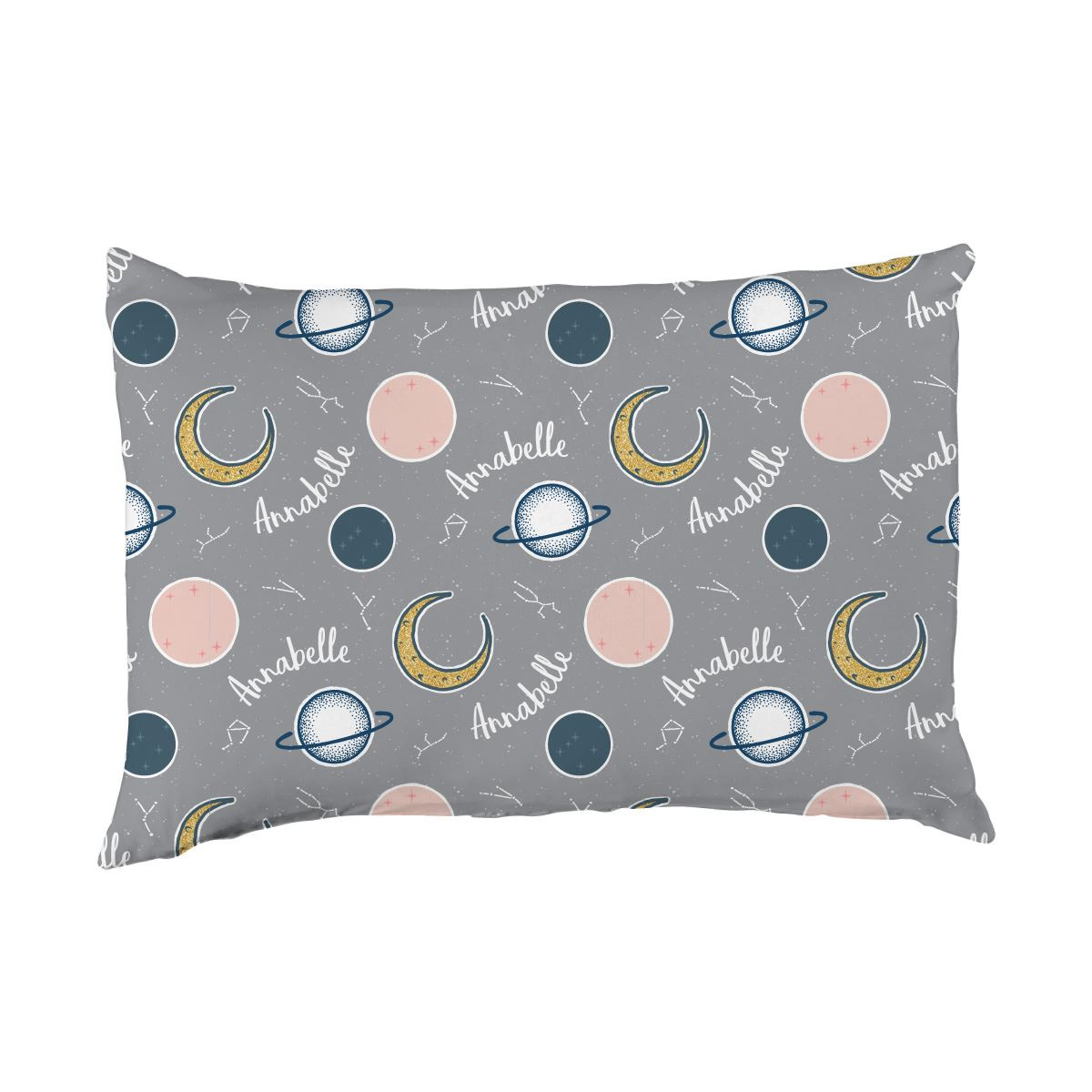 Annabelle's Outer Space | Big Kid Pillow Case