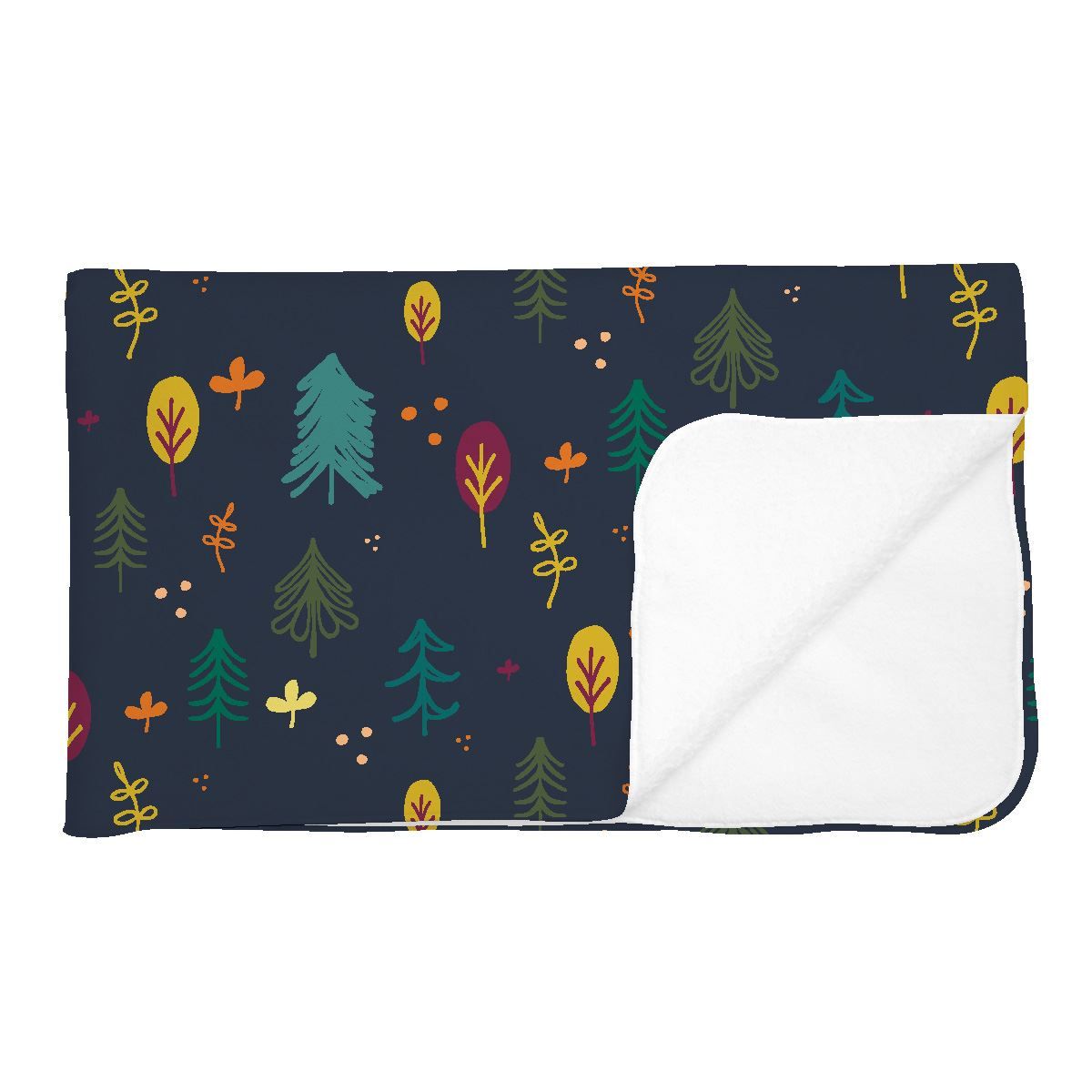 Asher's Autumn Forest | Adult Size Blanket
