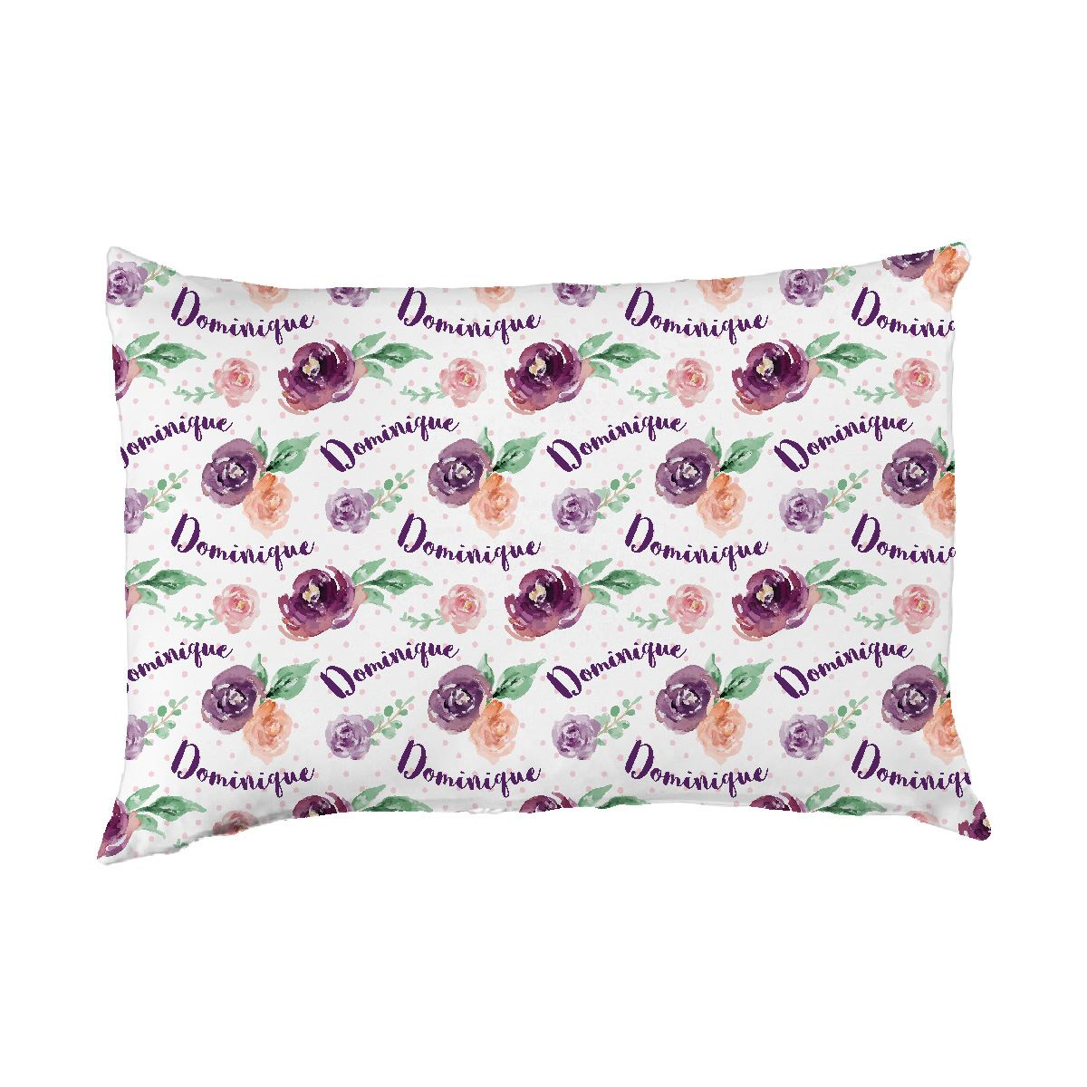 Margot's Magenta Floral | Big Kid Pillow Case
