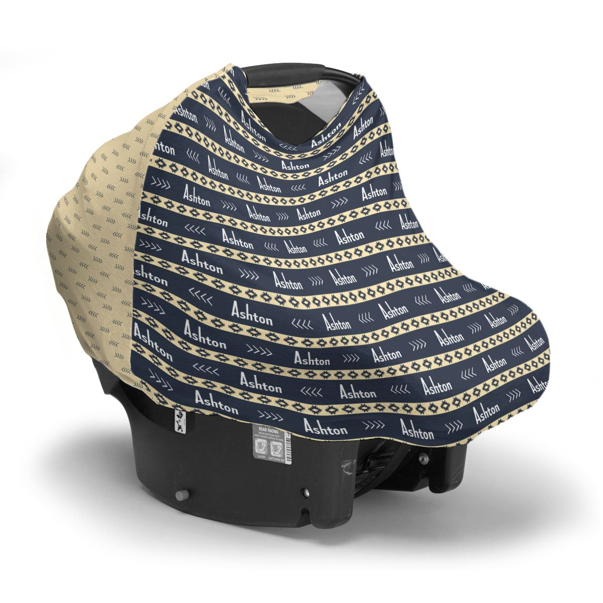 Ashton's Albuquerque Aztec | Car Seat Cover (Multi-Use)