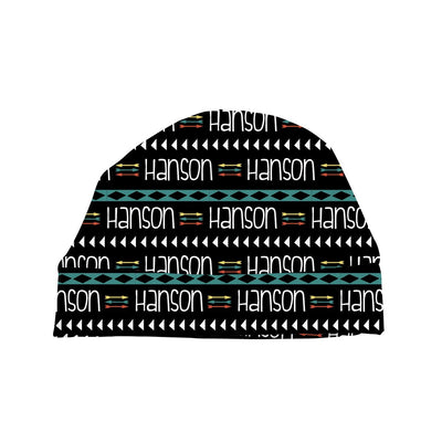 Hanson's Aztec and Arrows | Swaddle and Hat Set