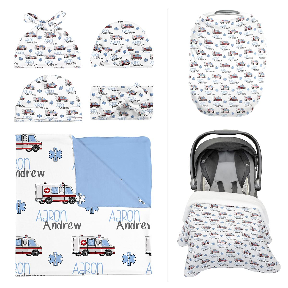 Aaron's Speedy Ambulance | Take Me Home Bundle