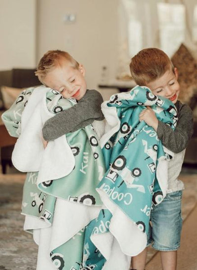 Taylor's Tractors | Big Kid Blanket