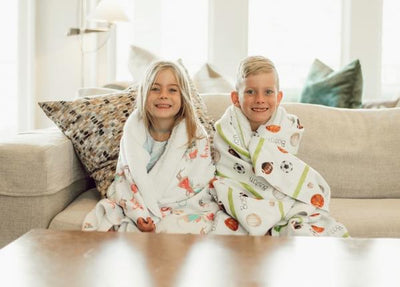 Issy's Forest Fox | Big Kid Blanket