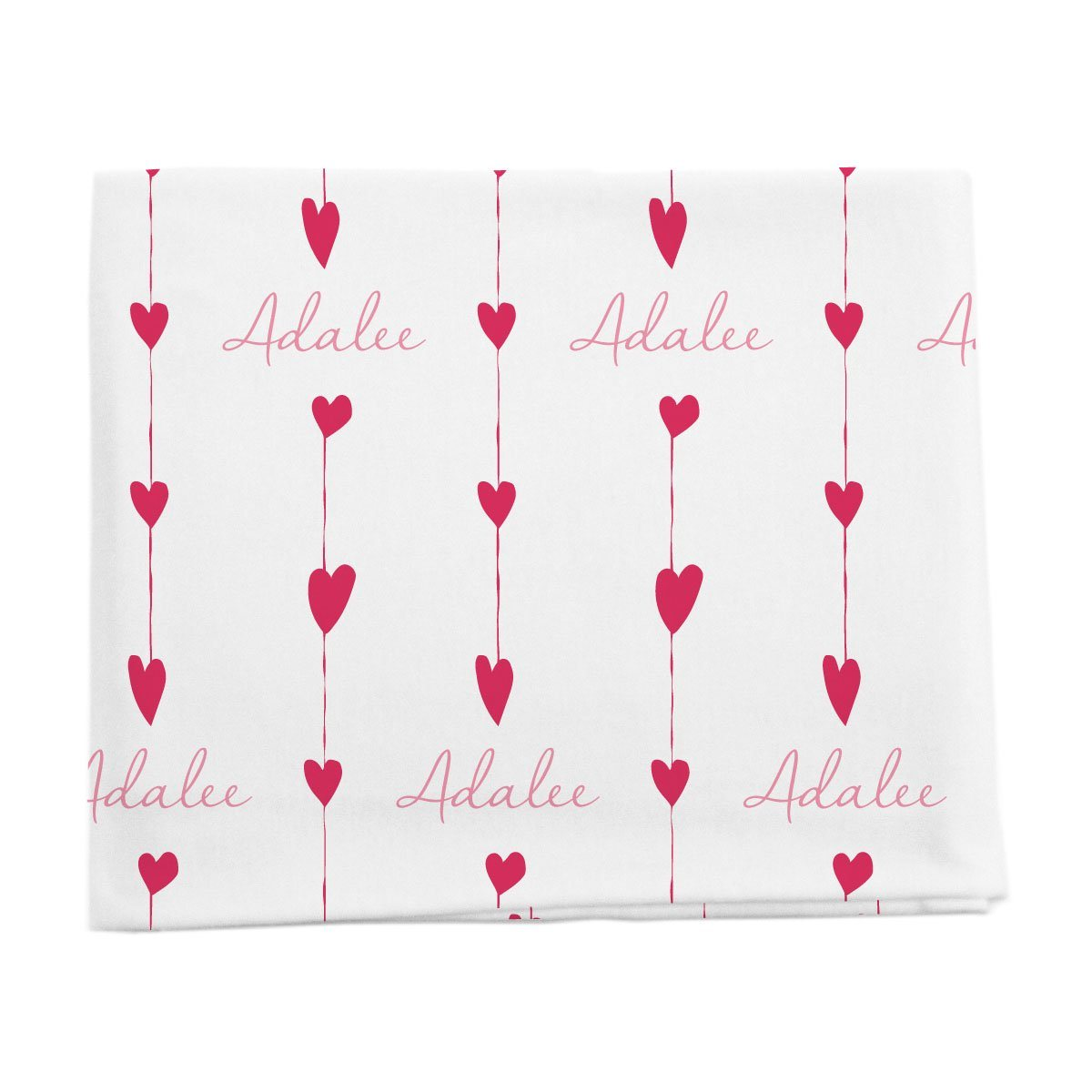 Adalee's Valentine Hearts | Swaddle