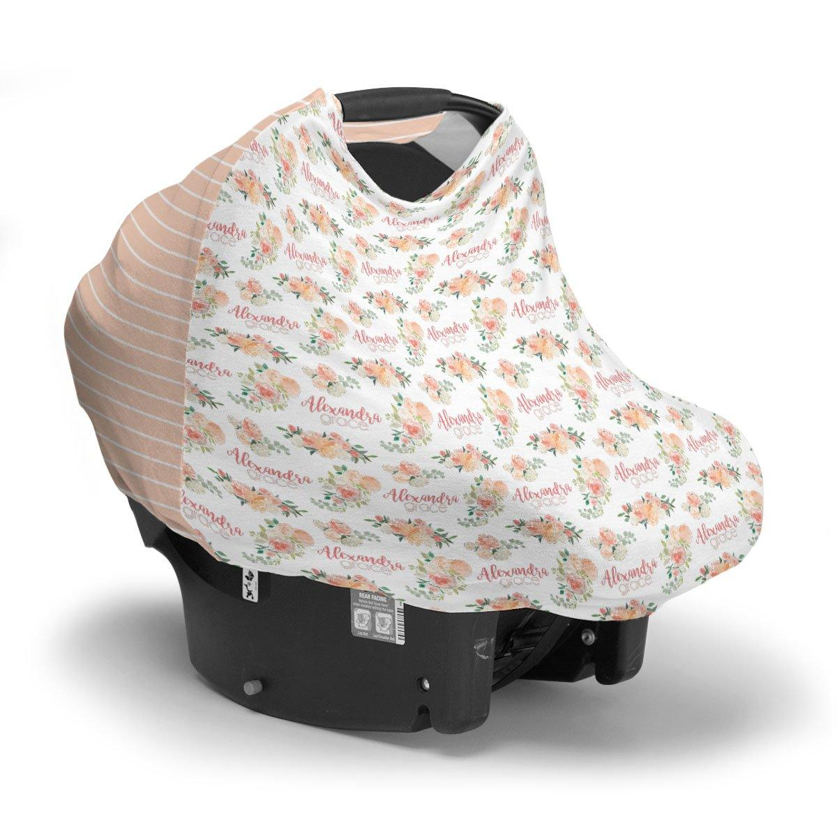 Alexandra's Springtime Floral | Car Seat Cover (Multi-Use)