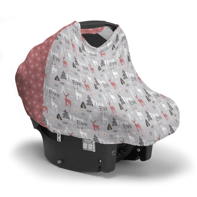 Amina's Winter Wonderland | Car Seat Cover (Multi-Use)