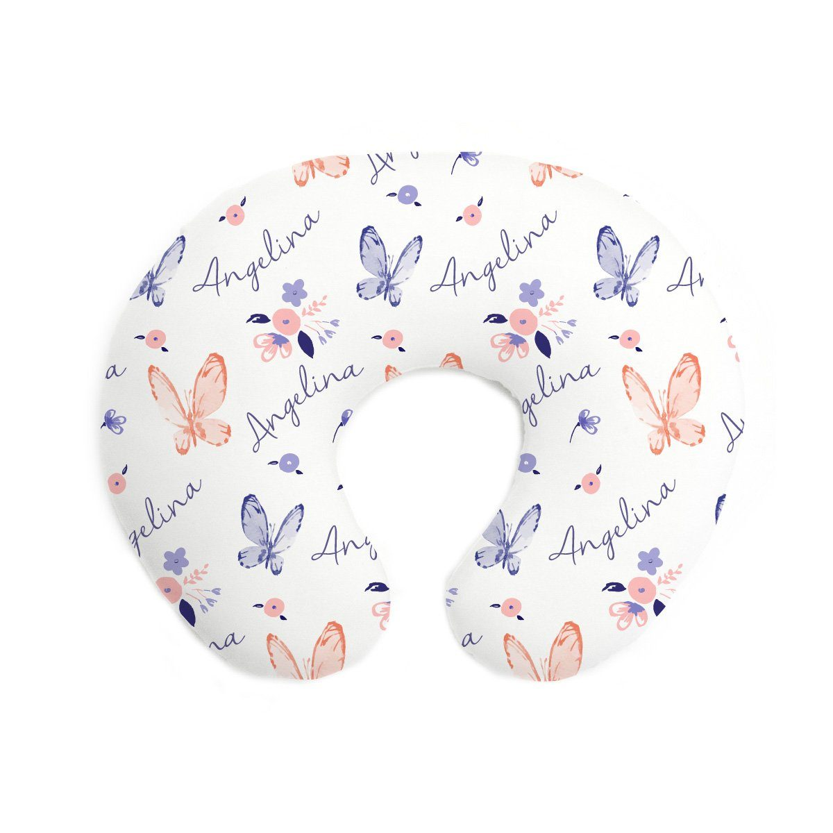 Angelina's Summer Butterfly | Pillow Cover for Boppy®