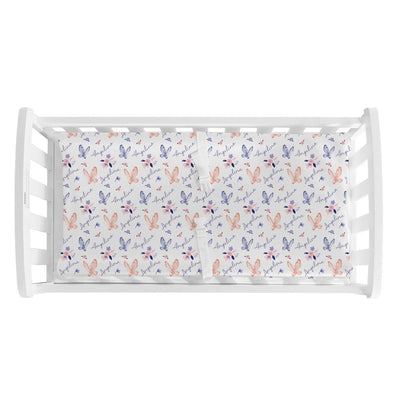 Angelina's Summer Butterfly | Changing Pad Cover